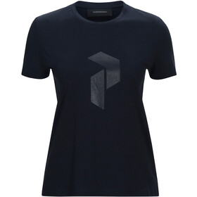Peak Performance Ground Tee 2 Dames, salute blue